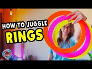 Learn to juggle RINGS - Beginner Juggling Tutorial