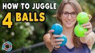 Learn to JUGGLE 4 BALLS - Intermediate Tutorial-0