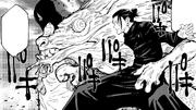 Suguru summoning two strong Cursed Spirits