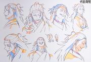 Pseudo-Geto Anime Concept Art