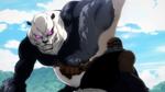 Panda en mode Gorille prêt à en finir avec Mechamaru EP16