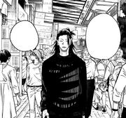 Suguru suggests Satoru could kill all non-sorcerers