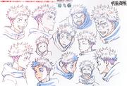 Yuji Itadori Anime Concept Art