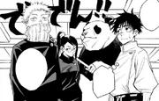 Yuta, Maki, Toge, and Panda