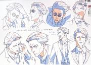 Kento Nanami Anime Concept Art