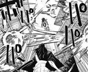 Yuta commands Geto's curses to die