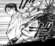 Yuta knocks Choso out