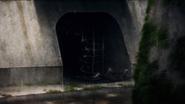 Kawasaki sewers entrance (Anime)