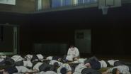 Everyone unconscious inside the gym (Anime)