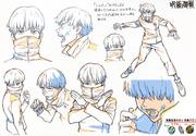 Toge Inumaki Anime Concept Art