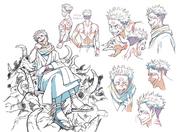 Sukuna Anime Concept Art