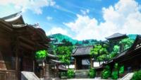 Tokyo Jujutsu High landscape (Anime)