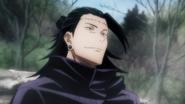 Geto plans to retake the fingers (Anime)