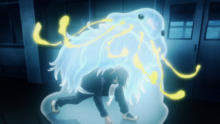 Junpei with his Shikigami Moon Dregs (Anime).png