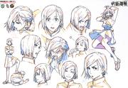Nobara Kugisaki Anime Concept Art