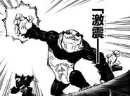 Panda leads the attack on Pseudo-Geto