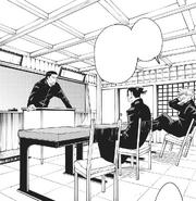 Satoru and Suguru in class