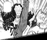 Kinji kicks Yuji