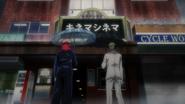 Yuji and Nanami investigate Kinema Cinema (Anime)