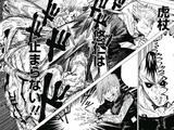 Yuji Itadori & Nobara Kugisaki vs. Eso & Kechizu