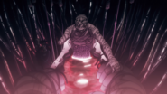 Kokichi affected by his Heavenly Restriction (Anime)