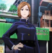 Nobara introduces herself (Anime)