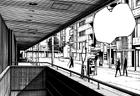 Bunkamura Substation Entrance