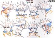Megumi Fushiguro Anime Concept Art