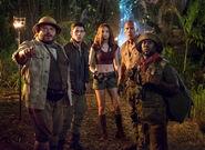 Jumanji welcome to the jungle cast