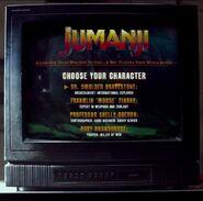 Jumanji Video Game Start Screen (Trailer)