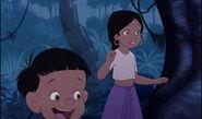 Shanti and Ranjan are both glad Mowgli came back