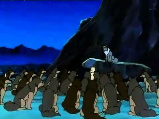 Akela and the Wolf Pack (Jungle Book Shōnen Mowgli)
