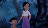 Shanti and Ranjan both hear Mowgli