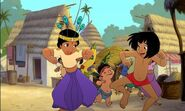 Mowgli Shanti and Ranjan have a fun parade