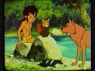 Mowgli, Kichi and Lala