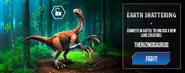 Therizinosaurus Earth Shattering News