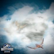 Pterosaurs Isla Sorna