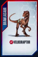 Velociraptor Brawlasaur 1