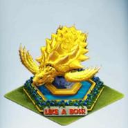 Gold Akupara 81 Statue