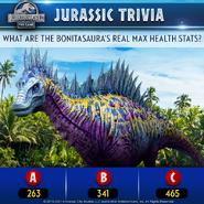 Bonitasaura Trivia