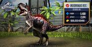 Indominus rex Stats