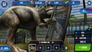 Jurassic world the game indominus rex eating by kaijudialga-da0f7k8