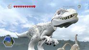 Indominus Rex Free Roam Gameplay