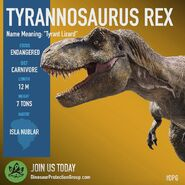 T-rex dpg