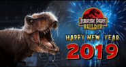 Jurassic Park Builder Happy New Year 2019