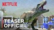 Jurassic World La Colo du Crétacé - Saison 2 Teaser officiel VF Netflix France