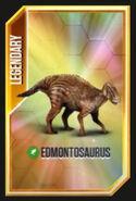 Jurassic World- The Game Эдмонтозавр