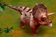 Triceratops (Adult) (Lvl. 35-40)