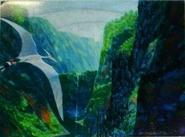 JP3 Pteranodon carrying Eric concept art