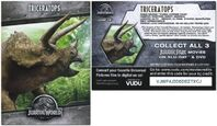 Walmart Pizza Jurassic World Triceratops